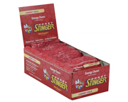 HONEY STINGER CHEWS MASTICABLES CON CAFEINA BOX 120 U CHERRY COL