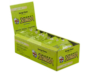 HONEY STINGER CHEWS MASTICABLES CON CAFEINA BOX 120 U LIME-ADE