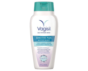 VAGISIL WASH JABON CUIDADO INTIMO FEMENINO SENSITIVE PLUS 354ML
