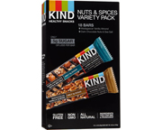 KIND NUT & SPICES BAR BARRAS DE PROTEINAS 18 UN VARIETY PACK