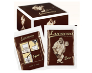 LUCAFFE LUCACAO BAR EXQUISITO CHOCOLATE CALIENTE ITALIANO BOX 25