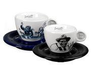 LUCAFFE TAZA DE CAFE ITALIANA BLUCAFFE + MR EXCLUSIVE CAPPUCCINO