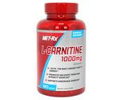 MET-Rx L-CARNITINE 1000 HARDCORE CARNITINA 1000MG 180 CAPS