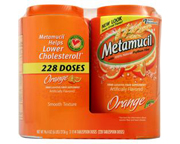 METAMUCIL ORANGE FIBRA NATURAL LAXANTE 6 LBS SABOR NARANJA