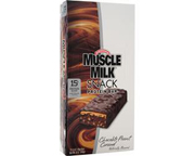 MUSCLE MILK HIGH PROTEIN SNACK BAR BARRAS PROTEINAS 12 UN CHOCOL