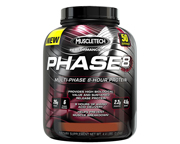 MUSCLETECH PROTEINA PHASE 8 EXTENDED RELEASE 4,46 LBS COOKIES