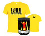 NATURAL STEROL COMPLEX + POLERA ANIMAL T-SHIRT ICONIC PACK DUO