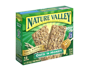 NATURE VALLEY CRUNCHY GRANOLA BAR BARRAS PROTEINAS 12 UN HONEY
