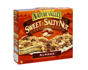 NATURE VALLEY SWEET NUT GRANOLA BAR BARRAS PROTEINAS 6 UN ALMOND