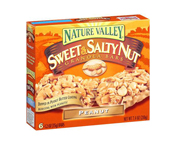 NATURE VALLEY SWEET NUT GRANOLA BAR BARRAS PROTEINAS 6 UN PEANUT