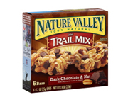 NATURE VALLEY TRAIL MIX GRANOLA BAR BARRAS PROTEINAS 6 UN CHOCOL