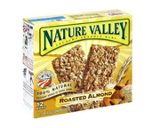 NATURE VALLEY CRUNCHY GRANOLA BAR BARRAS PROTEINAS 12 UN ALMOND
