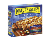 NATURE VALLEY CRUNCHY GRANOLA BAR BARRAS PROTEINAS 12 UN VARIETY