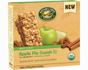 NATURES PATH CHEWY GRANOLA BAR BARRAS PROTEINAS 10 UN APPLE PIE