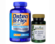 OSTEO BI-FLEX TRIPLE STRENGTH 170 CAPS + VITAMINA D3 1000 UI