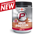 MUSASHI PROTEINA P HIGH PROTEIN WHEY 375 GR ICED CHOCOLATE