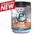 MUSASHI PROTEINA P LOW CARB WHEY PROTEIN 350 GR ICED CHOCOLATE