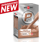 MUSASHI PROTEINA LIQUIDA P30 MILK DRINK BOX 24 UN ICED CHOCOLATE