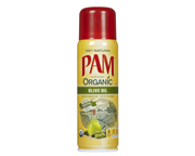 PAM ORGANIC OLIVE OIL 100% NATURAL ACEITE DE OLIVA EN SPRAY 141G