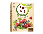 PURE VIA STEVIA ENDULZANTE NATURAL ORGANICO 80 PACKETS