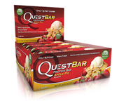 QUEST BAR NATURAL PROTEIN BAR BARRAS DE PROTEINAS 12 UNID APPLE