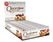 QUEST BAR PROTEIN BAR BARRAS DE PROTEINAS 12 UNID CHOCOLATE CHIP
