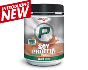 MUSASHI SOY PROTEIN PROTEINA DE SOYA VEGETAL 350GR CHOCOLATE