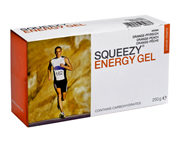SQUEEZY ENERGY GEL ENERGIZANTE BOX 12 UNID BANANA