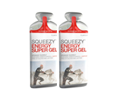 SQUEEZY ENERGY SUPER GEL CON CAFEINA ENERGIZANTE 2 UNID VARIETY