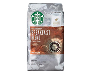 STARBUCKS CAFE BREAKFAST BLEND ARABICA MEDIUM 340GR GRANO MOLIDO