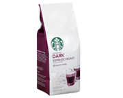 STARBUCKS CAFE DARK INTENSO  ARABICA  ESPRESSO ROAST 226GR GRANO