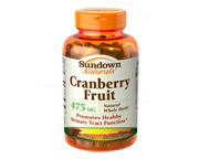 SUNDOWN CRANBERRY ARANDANO ROJO PARA INFECCIONES URINARIAS 100 C