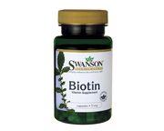 SWANSON BIOTIN 5000 MCG HAIR, SKIN & NAILS BIOTINA 100 CAPS