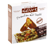 TASTE OF NATURE ORGANIC FOOD BAR BARRAS PROTEINAS 10 UN NUTS