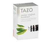 TAZO TEA AWAKE TE NEGRO ENGLISH BREAKFAST 20 TEA BAGS