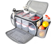FITMARK THE SHIELD LG BOLSO ORGANIZADOR DE COMIDAS BLACK