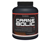 ULTIMATE CARNEBOLIC BEEF PROTEIN ISOLATE PROTEINA CARNE 4 LB ORA