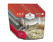 WISE FOOD OUTDOOR COMIDA PREPARADA 6 PACK CREAMY MUSHROOM BEEF