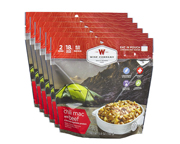 WISE FOOD OUTDOOR COMIDA PREPARADA 6 PACK CHILI MAC BEEF