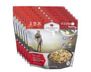 WISE FOOD OUTDOOR COMIDA PREPARADA 6 PACK TERIYAKI CHICKEN RICE