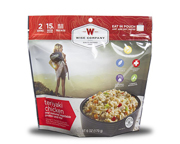 WISE FOOD OUTDOOR COMIDA PREPARADA 1 PACK TERIYAKI CHICKEN RICE