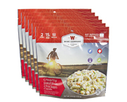 WISE FOOD OUTDOOR COMIDA PREPARADA 6 PACK CREAMY PASTA CHICKEN