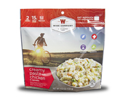 WISE FOOD OUTDOOR COMIDA PREPARADA 1 PACK CREAMY PASTA CHICKEN