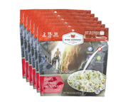 WISE FOOD OUTDOOR COMIDA PREPARADA 6 PACK PASTA ALFREDO CHICKEN