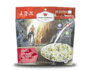 WISE FOOD OUTDOOR COMIDA PREPARADA 1 PACK PASTA ALFREDO CHICKEN