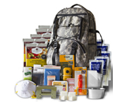 WISE FOOD SURVIVAL KIT MOCHILA DE SUPERVIVENCIA PARA 5 DIAS CAMO