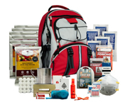 WISE FOOD SURVIVAL KIT MOCHILA DE SUPERVIVENCIA PARA 5 DIAS RED