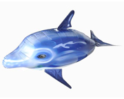 AIR SWIMMER FLYING DOLPHIN DELFIN VOLADOR A CONTROL REMOTO