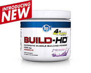 BPI BUILD-HD CREATINA N°1 DEL MUNDO CRECIMIENTO MUSCULAR GRAPE
