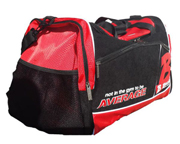 BRACHIAL BOLSO DEPORTIVO ENTRENAMIENTO GYM BAG CARRY BLACK/RED